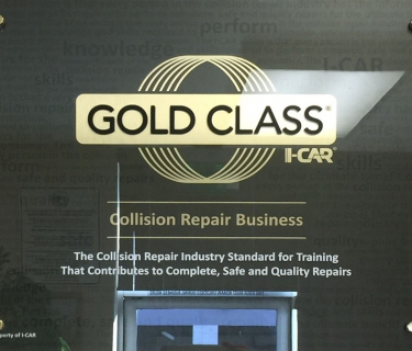 I-CAR Gold Class Collision Repair Business