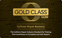I-CAR Gold Class Collision Repair Business Shop