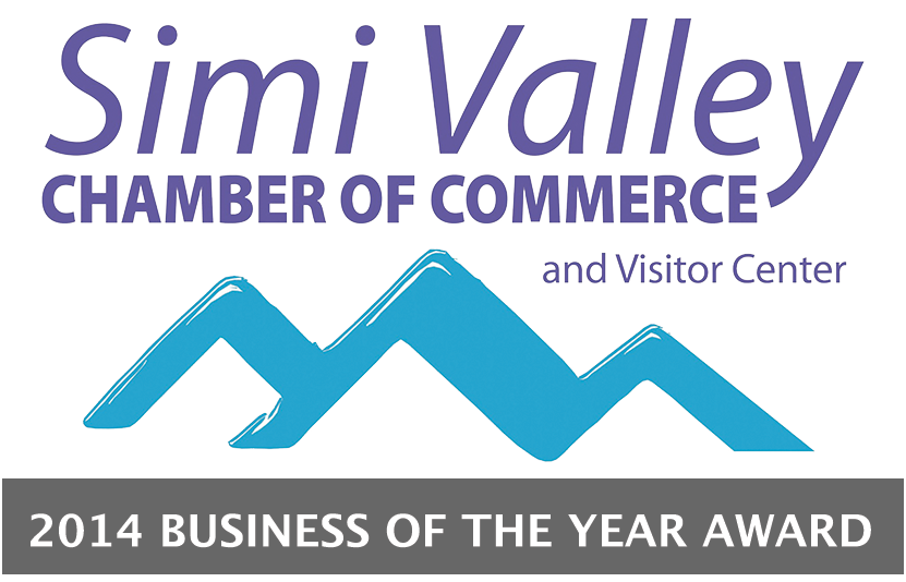 Simi Valley Chamber of Commerce - 2014 Business of the Year Award